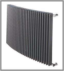 Column Design Radiators Curved For Bay Window Wall