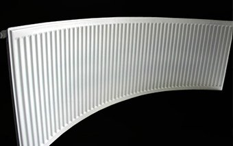Curved Compact Radiators