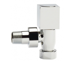 Eastbrook Square Straight Radiator Valve