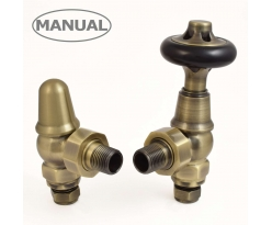 Commodore Angled Manual Valve