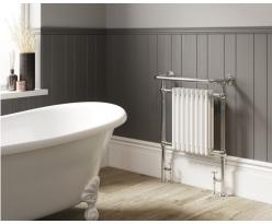 Croxton Floor Mounted Towel Rail