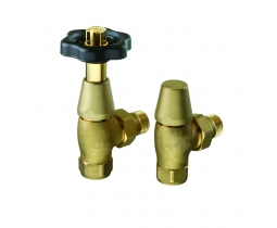 Wheel Head Angled TRV Valve